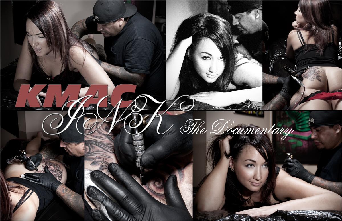 Kelsey tattoo parlor shoot - Charles Ryan, Napa CA
